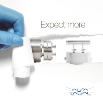 Expect more- Pharma Line and Pharma-X heat exchangers