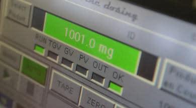 Micro dosage automatique de poudre MCPI Fine dosing