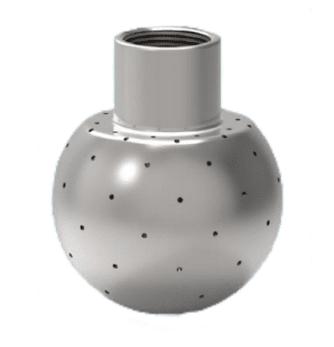 Static Nozzle – Mushroom Spray Ball